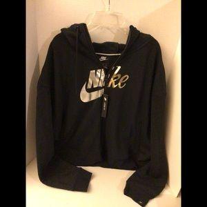 Nike XL men's black hoodie NWT
